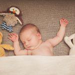 Neugeborenes Baby Fotoshooting Fotostudio Berlin