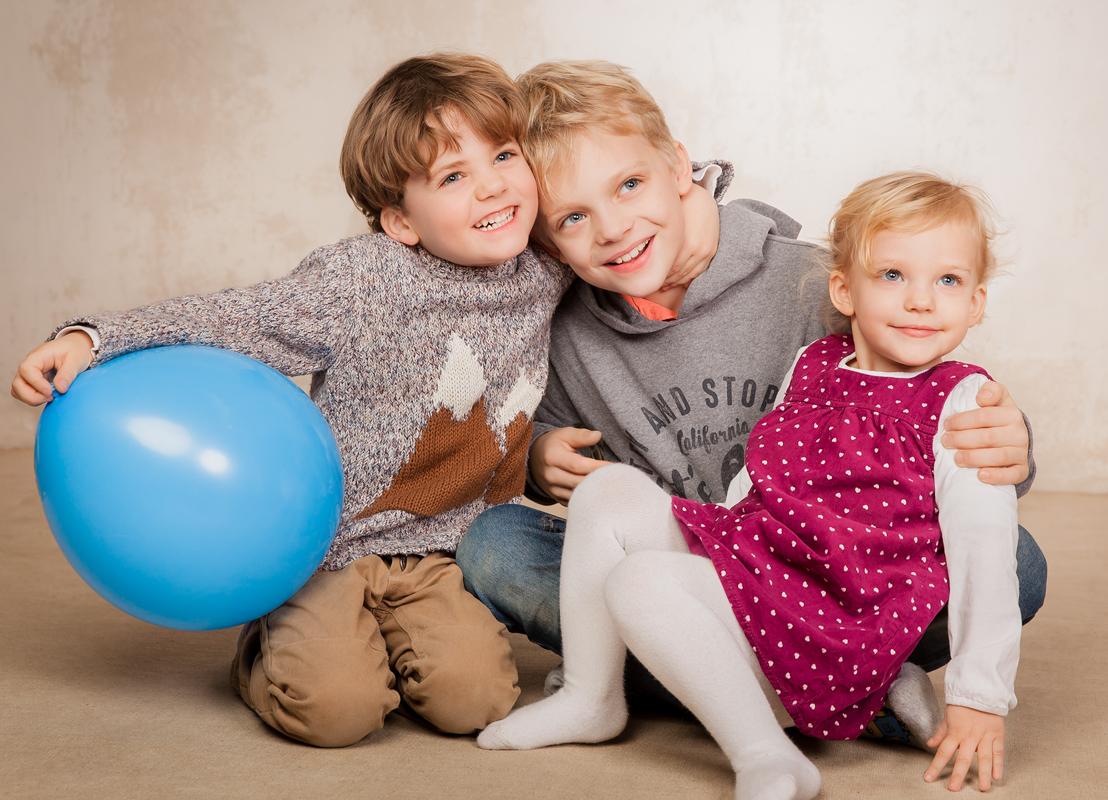 Kinderfotoshooting Familie Fotostudio Berlin