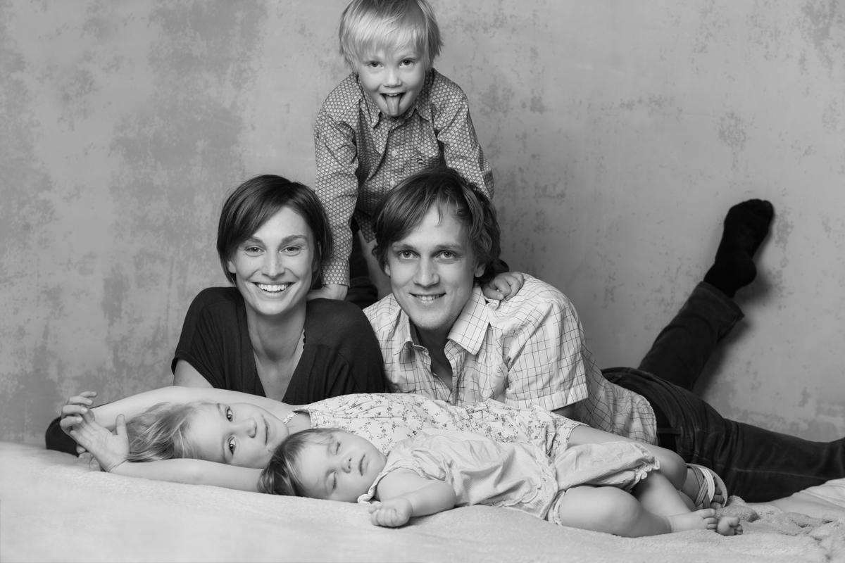 Familienfotoshooting Kinder Fotostudio Berlin