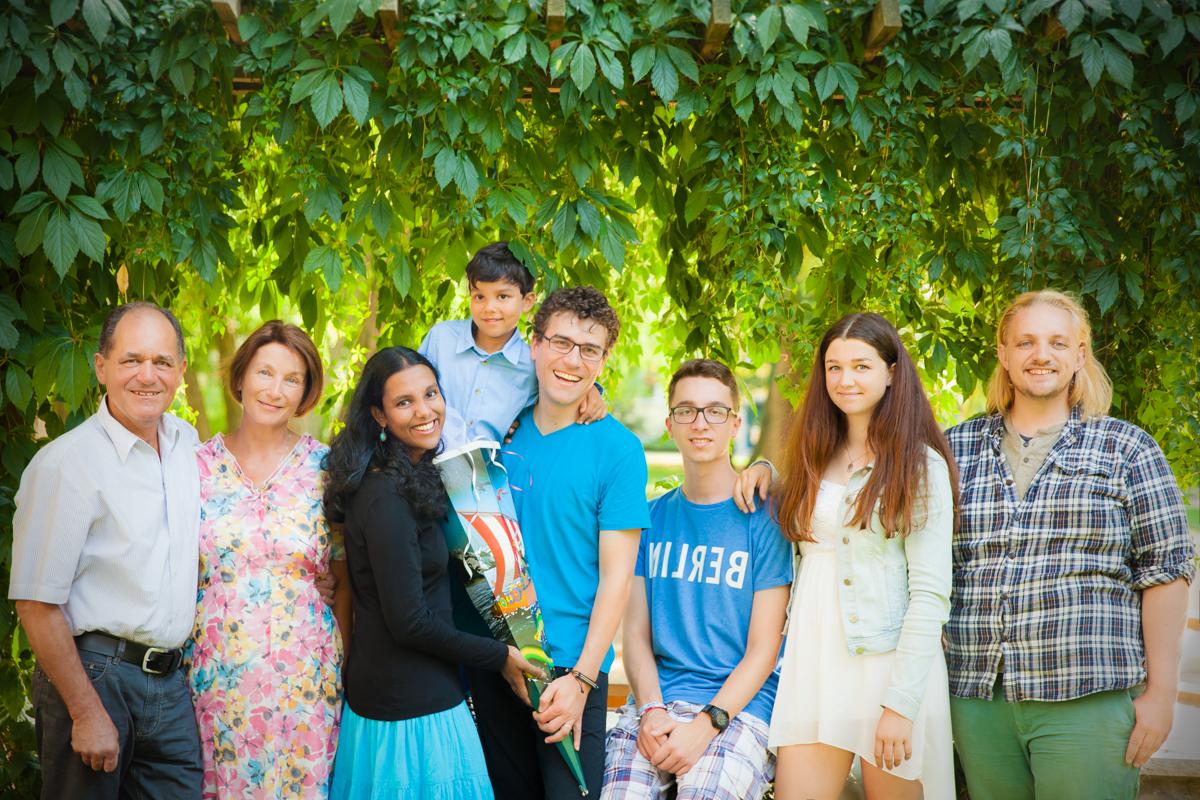 Familienfotoshooting Kinder Draußen Fotostudio Berlin