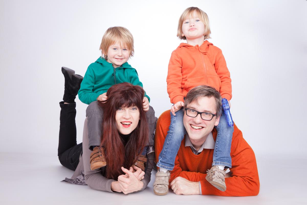 Familie Kinder Fotoshooting Fotostudio Berlin