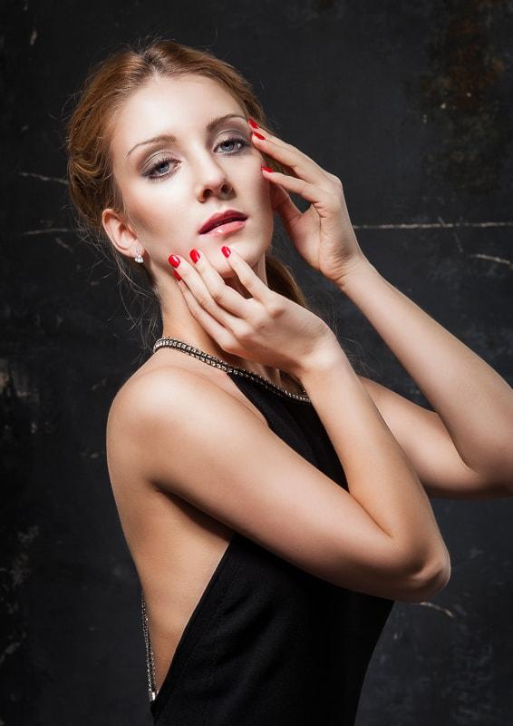 Sedcard Fashion Portrait Fotoshooting Fotostudio Berlin